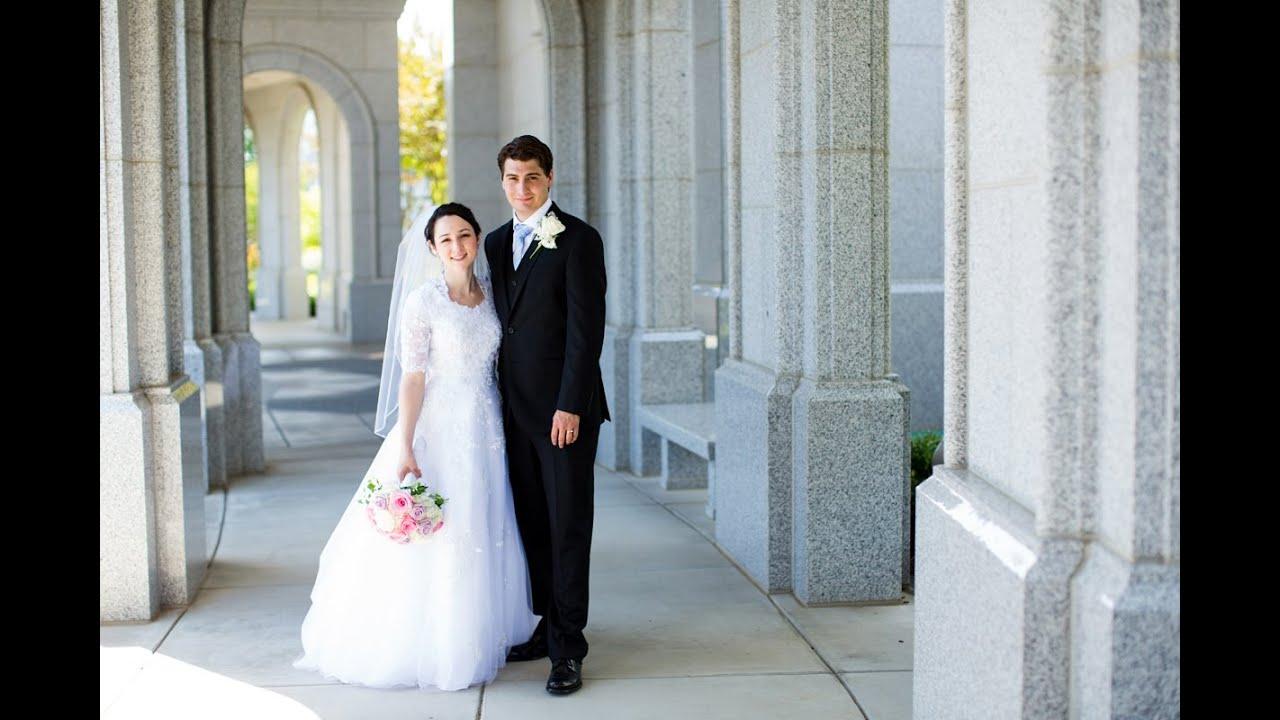 Sacramento LDS Temple Wedding Photos - YouTube