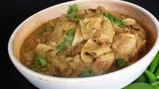 Papad Ki Subzi (sabzi) - Rajasthani Vegetarian Indian Recipe