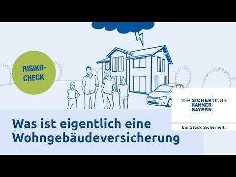 Was Ist Eigentlich Eine Wohngebäudeversicherung? - Versicherungskammer Bayern