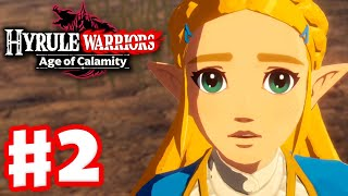 Road to the Ancient Lab! - Hyrule Warriors: Age of Calamity - Gameplay Walkthrough Part 2