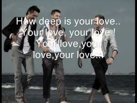 How Deep Is Your Love   Akcent With Lyrics