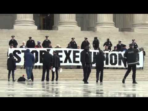 January 17, 2012 Supreme Court Death Penalty Demonstration