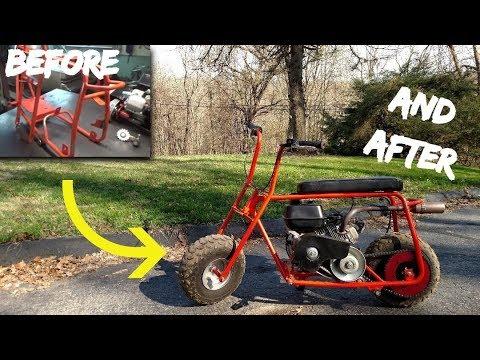 Honda clone / Predator 212 Gas tank modification and fuel