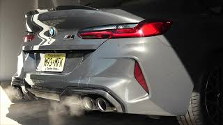 2020 BMW M8 Gran Coupe Competition | Cold Start with Revs