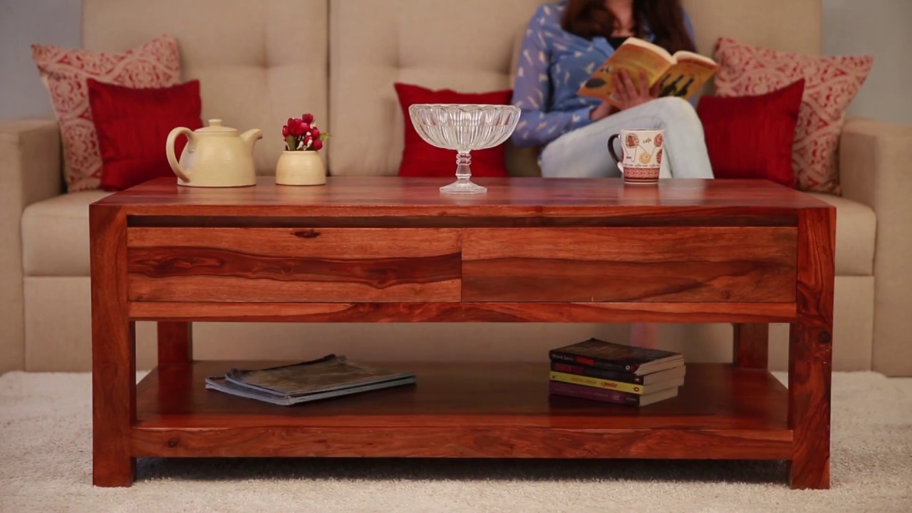 Wooden Coffee Tables   Hutson Wooden Coffee Tables Online With Best Wooden  Coffee Table Designs
