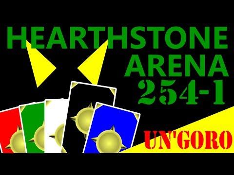 UN'GORO! Hearthstone Arena #254 Part 1 (Mage)