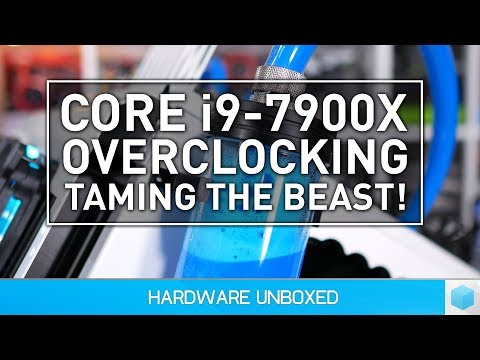 Intel Core i9-7900X Overclocking, Can We Tame the Beast?