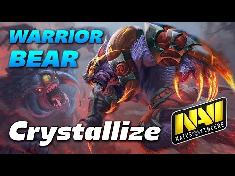 Crystallize URSA WARRIOR BEAR - Dota 2 Pro Gameplay