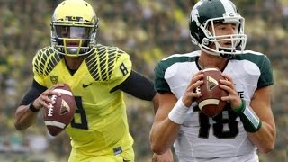 Michigan State Spartans vs Oregon Ducks Highlights