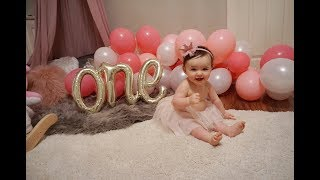 Kendall's First Birthday!