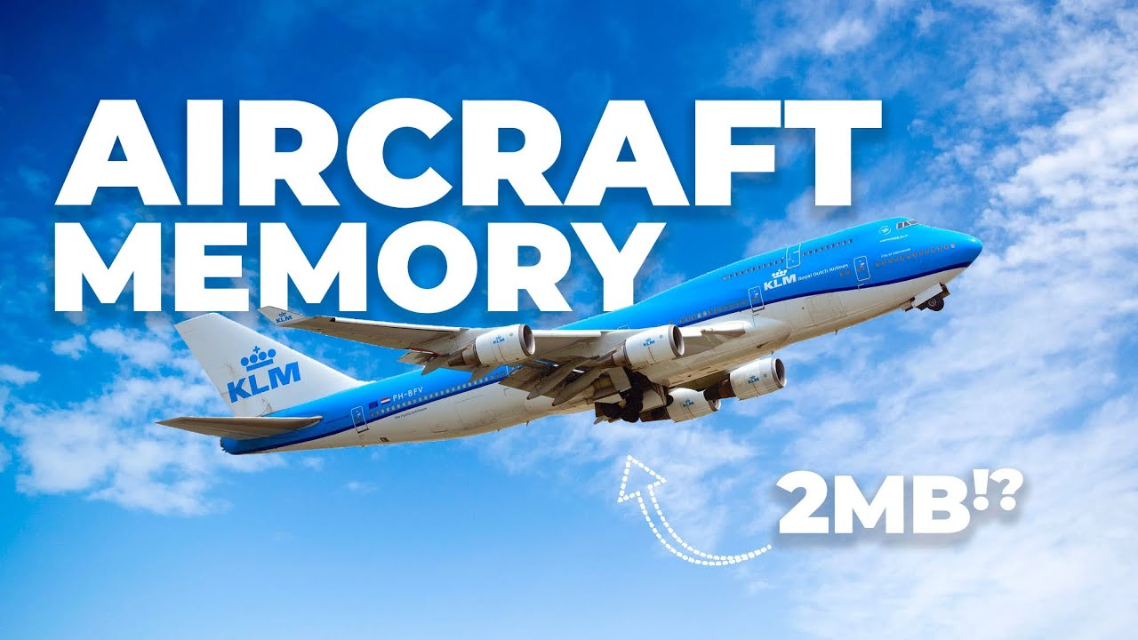 Your Smartphone Has More Memory Than A Boeing 747
