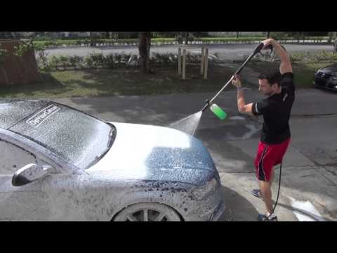 How to Wash Plasti Dipped Cars - Dip Foam Cannon Wash System