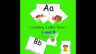 Self-Checking Alphabet and Counting Cards - Sampler at www.Tools4PreschoolandKindergarten.com