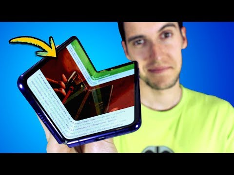 TENGO el FLEXIBLE !!!! Galaxy FOLD (y me parece...)