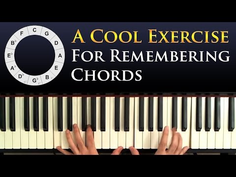 Simple Exercise For Practicing & Memorizing Chords