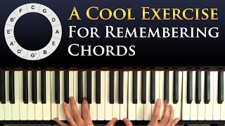 simple exercise for practicing memorizing chords