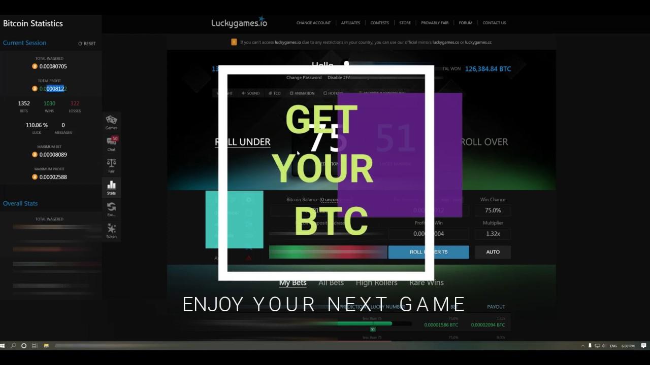geriausi bitcoin dice strategija)