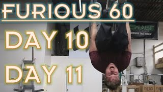 WEEKEND HANGING | PROTEIN PANCAKES | FURIOUS 60 | DAY 10/11