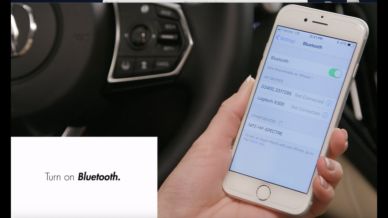 Bluetooth® HandsFreeLink® (Pairing phones, more) | 2019