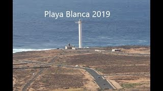 Playa Blanca 2018 Walk from Lighthouse to Playa Flamingo