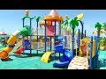 Indoor Playground Family Fun Play Area for Kids and Baby Nursery Rhymes Song by La La Kids
