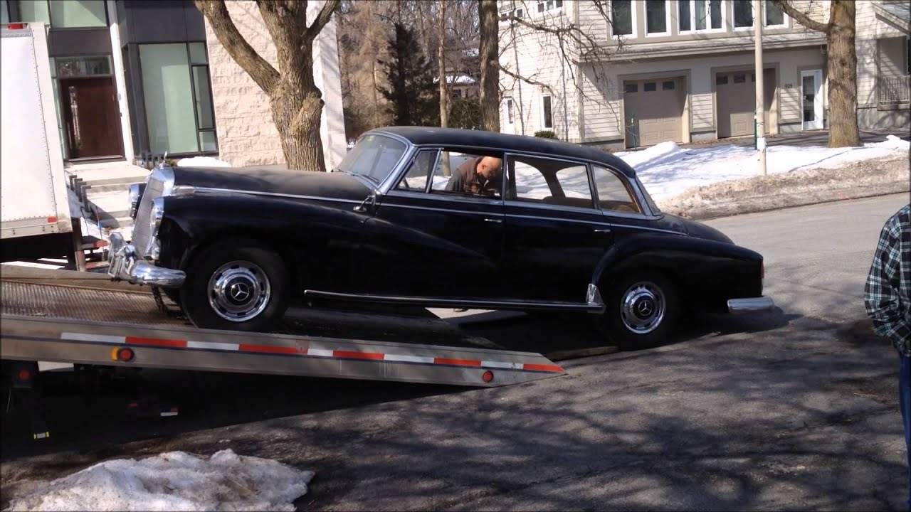 Cuban 1958 mercedes benz for sale in canada youtube for Mercedes benz for sale in canada