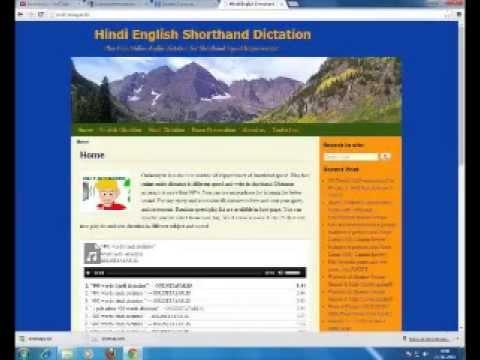hindi dictation software free
