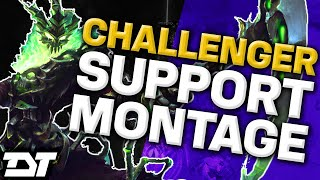 Adam Challenger Support Montage - Best LoL Plays 2016