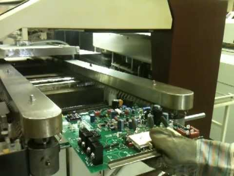 Pc Board Assembly Wave Soldering Machine Youtube