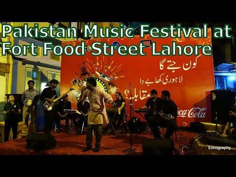 Music Festival at Fort Food Street Lahore, Pakistan