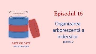 Baze de Date | S1E16 | Organizarea arborescentă a indecșilor 2