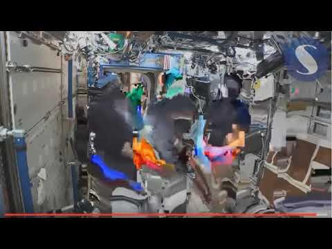Fallos del CGI de la ISS segun terraplanistas