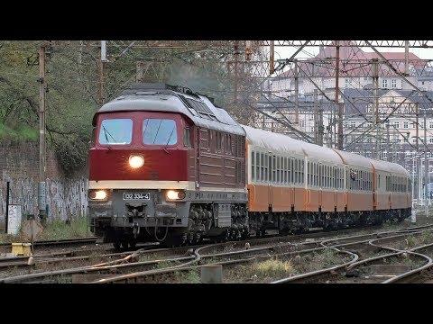 Ludmiła Z Ekspresem Miejskim / DB Baureihe 232 With City Express