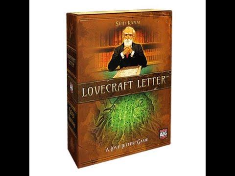 Loverckaft Настольная игра Тайное послание Лавкрафта