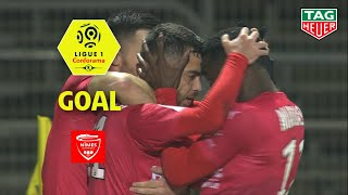 Goal Téji SAVANIER (28') / Nîmes Olympique - Dijon FCO (2-0) (NIMES-DFCO) / 2018-19
