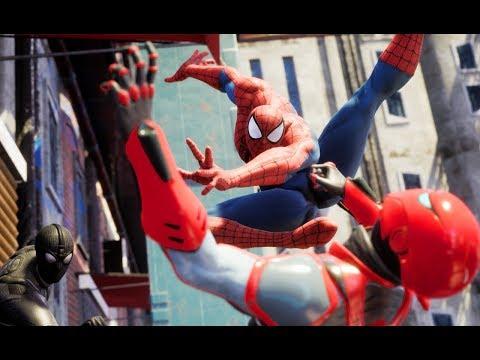 SPIDER-MAN BATTLE! SPIDER-VERSE Vs AMAZING SPIDERMAN Vs SPIDERMAN 2099 (SPIDERMAN MULTIVERSE)