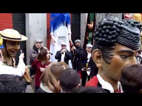 Fiestas De San Isidro Madrid 2017 Gigantes Y Cabezudos