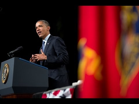President Obama and the First Lady address the Disabled American Veterans National Convention