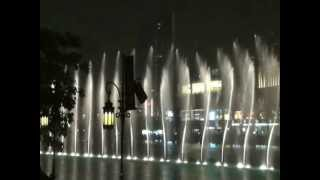Dubai Mall Fountain Show-Lionel Ritchie Song