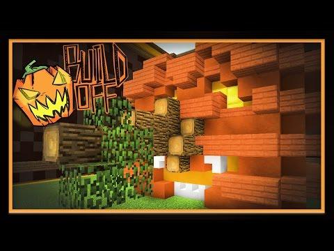 Minecraft: Halloween Build Battle  - Pumpkin Design Challenge
