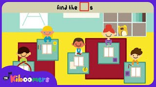 We Are a Classroom Family  Preschool Song  Kids Game  The Kiboomers