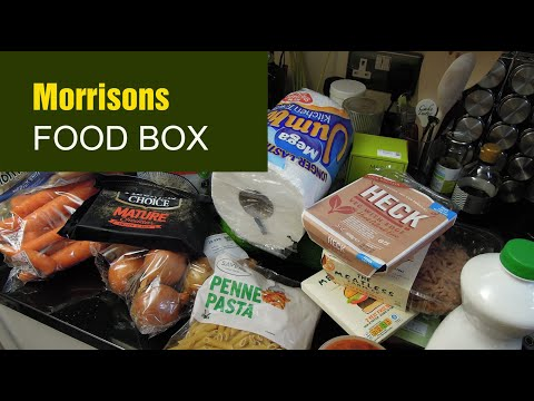 Morrisons Vegetarian Food Box Review: unpacking, what's inside, delivery, unusual ingredients, fun