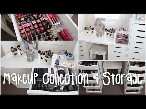 Makeup Collection and Storage | Rachael Jade