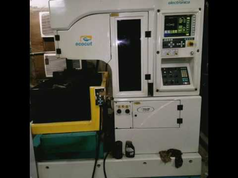 Edm Wire Machine For Sale | Electronica Wire Cut Edm Machine Available For Sale Youtube