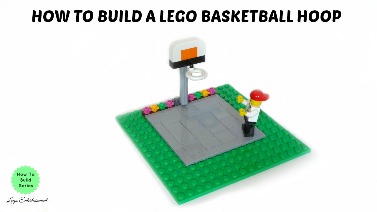 How to build a lego basketball hoop tutorial youtube for How to build a basketball goal