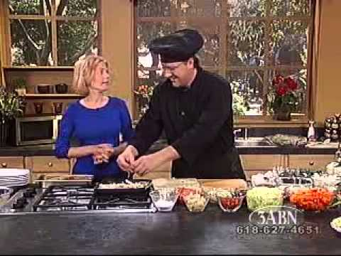 Vegetarian Cooking Recipes - Chef Mark Anthony 3ABN campmeeting 2009