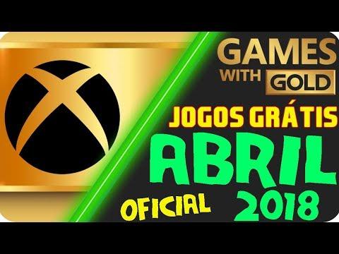 Oficial Jogos Grátis Xbox Live Gold Abril 2018 Youtube