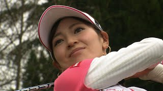初回の女子プロは、 美人すぎるプロゴルファーとして、露出度大の竹村真...