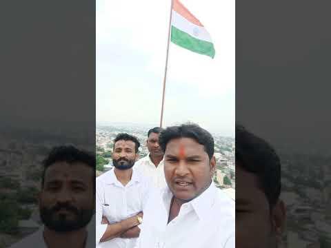 Yogesh Singh Ne Hyderabad Ki Sabse Unchi Jagah Par Hindustan Ka Tiranga Lahraya