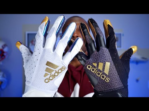 Adidas AdiZero 9.0 Football Gloves: First Impression